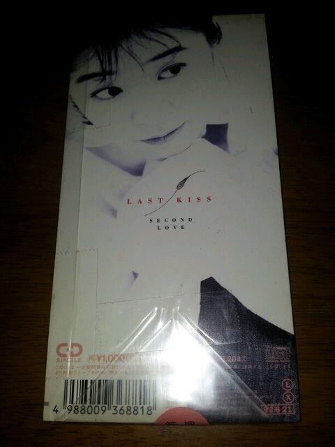谷村有美◇最後のKISS♪CDシングル美品◇secondlove〇二番手の恋 < タレントグッズの