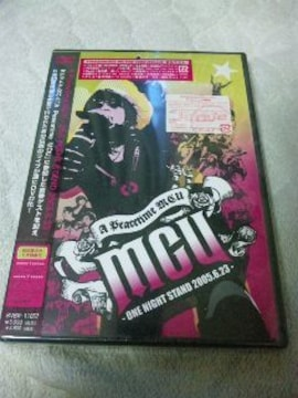 未開封DVD:A Peacetime MCUONE NIGHT STAND 2005.6.23