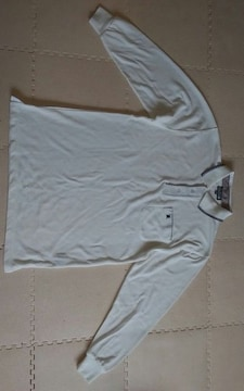 ROYAL POLO SPORTS CLUB Mサイズ 白 長ポロシャツ 美品