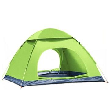 新品 テント グリーン