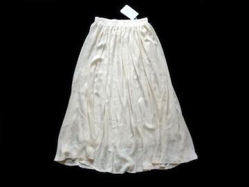 新品 定価5900円 ニコル NICOLE ふんわり マキシ丈 スカート