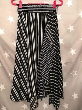 裾ランダム 変形スカート M〜LL
