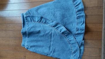 MPS インナーパンツ付 スカート