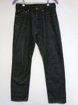 定価約2.2万ソフネットSOPHデザインデニム黒★ジーンズ
