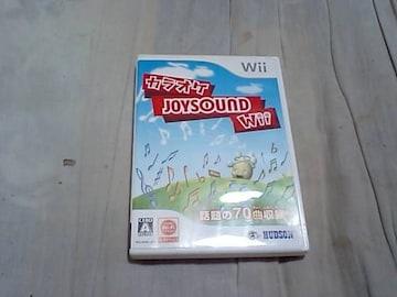 【Wii】カラオケ JOYサウンド Wii