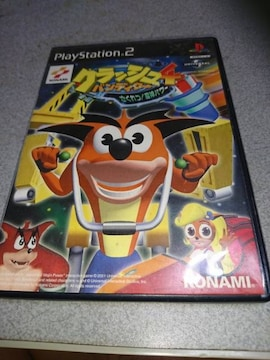PS2!箱あり!クラッシュバンディクー4!ソフト!