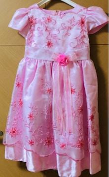 送料込/ドレス/七五三/結婚式/発表会/ピンク/120