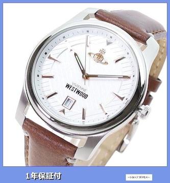 新品 即買■ヴィヴィアンウエストウッド腕時計 メンズ VV185WHBR