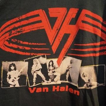 ロックT/バンドT ヴァンヘイレン Van Halen ラグラン7分袖 未使用 L