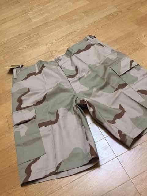 ROTHCOロスコハーフカーゴパンツトライカラーカモ サイズL100cm  < 男性ファッションの