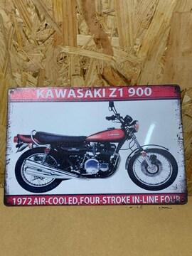 kawasaki Z1 バイク カンバン 看板 レトロ
