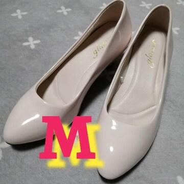 M/新品☆エナメルパンプス
