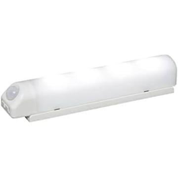 アイリスオーヤマ 屋内 LED センサーライト 昼白色 乾電池式 ウ