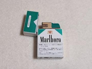 送料無料/マールボロメンソールモチーフターボライター非売品