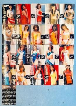 レースクイーン スーパーグラフィック トレカ カード 21枚