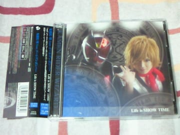 CD+DVD 仮面ライダーウィザード OP Life is SHOW TIME ゴールデンボンバー