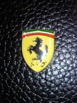 Ferrari フェラーリ 財布 ウォレット ブラック 箱 カードケース エンブレム
