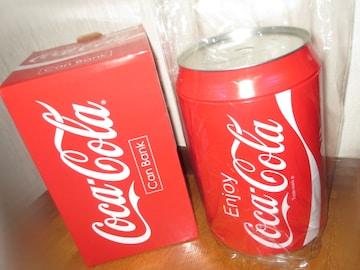 未使用☆レア超BIGサイズ*コカコーラ缶バンクver.2*貯金箱