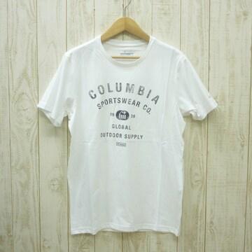 即決☆コロンビア特価クラシックTシャツ WHT/Lサイズ 新品