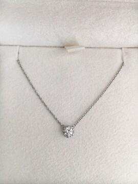 スタージュエリー ダイヤモンド ネックレス Pt950 0.10ct 2.2g