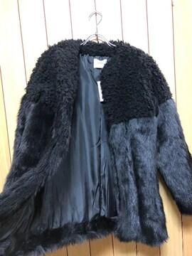 新品★ MURUA異素材ドッキングコート