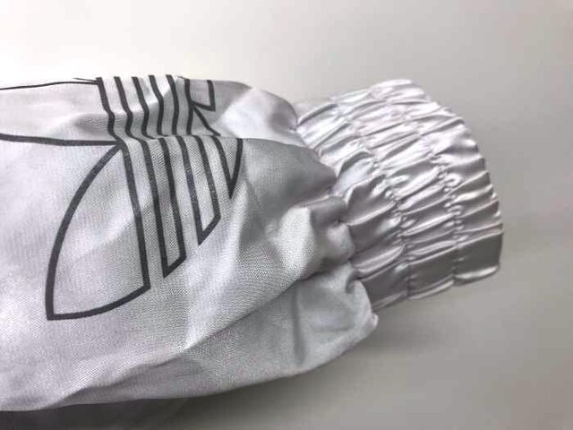 adidas(アディダス)デサント製 バイカラージップアップジャケットジャケット < 男性ファッションの