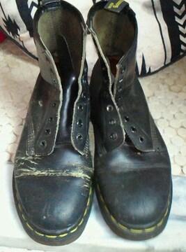 Dr.Martens ドクターマーチン 8ホール ブーツ イングランド製 難あり 24cm
