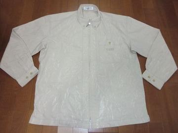 ●紳士シワ加工素材ジップアップおしゃれシャツおススメ●