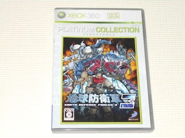 xbox360★地球防衛軍3 プラチナコレクション