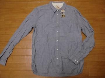 ヌーディージーンズ HENRY シャンブレーシャツ XL 新品