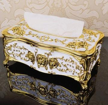薔薇 ティッシュボックス