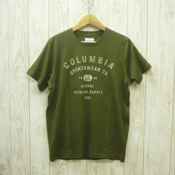 即決☆コロンビア特価クラシックTシャツ OLV/Lサイズ 新品