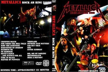 ≪送料無料≫METALLICA ROCK AM RING 2008 メタリカ