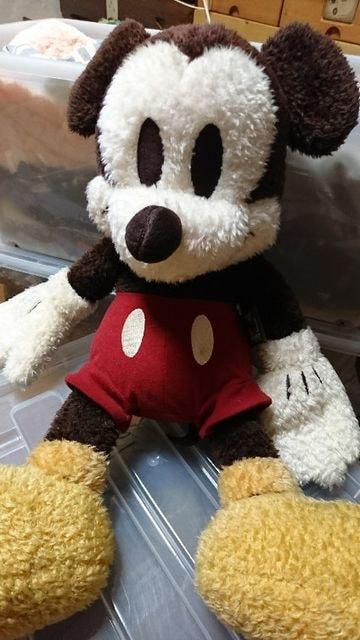 ミッキーマウス ぬいぐるみ < おもちゃの