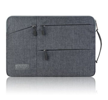 MacBook Pro/Air PCバッグ(13.3インチ.グレー)