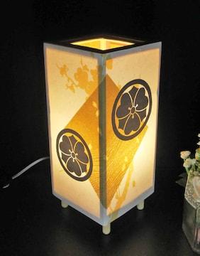家紋の宿り木《丸に剣片喰》LED電球色/夢明かりの安らぎを!!