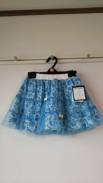 新品 花柄レーススカート