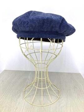 or slow(オアスロウ)デニムハンチングハンチング帽子