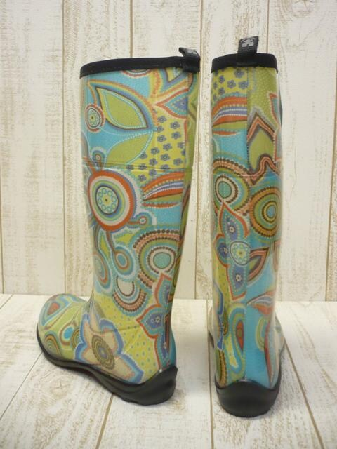 即決☆カミック レインブーツ ボヘミア GN/25cm カナダ製 長靴 新品 < 女性ファッションの