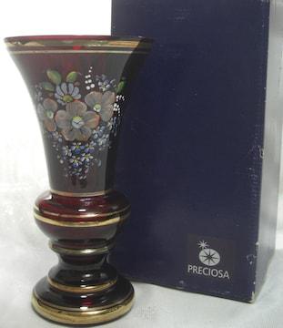 チェコ PRECIOSA社製ボヘミアンクリスタルガラス未使用0301