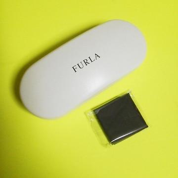 【本物】FURLA(フルラ)★メガネケース・メガネ拭き2点set★新品