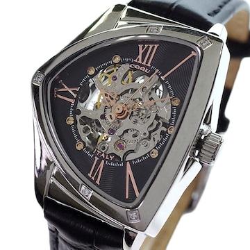コグ レディース 腕時計BS01T BRG 自動巻き ブラック