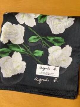 アニエス・ベー ハンカチ 白薔薇