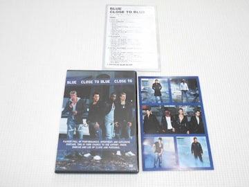 DVD★BLUE CLOSE TO BLUE