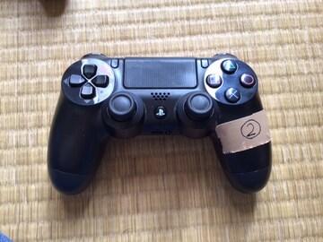 PS4コントローラー黒、定型外送料込み