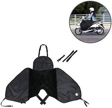 ブラック レッグカバー steman-net バイク レッグカバー スクー