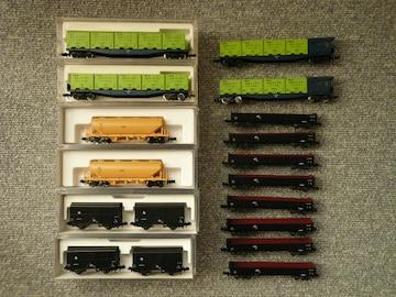 Nゲージ「貨車・コンテナセット」