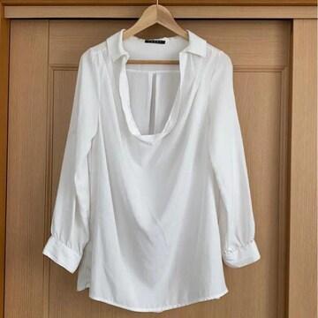 ☆*。INGNI ホワイト スキッパーシャツ☆*。
