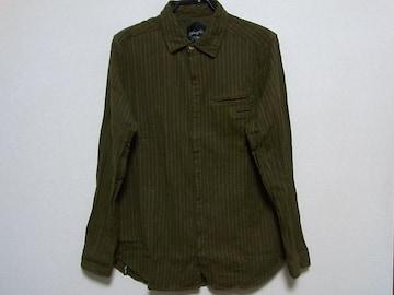 即決USA古着●鮮やかストライプデザインネルシャツ!アメカジ・ビンテージ