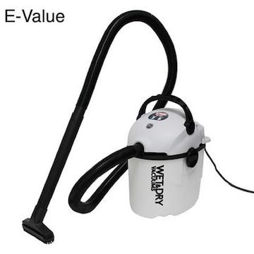 新品 【E-Value】乾湿両用掃除機10L EVC−100P